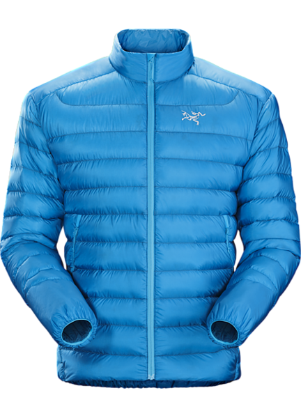 Arcteryx Cerium LT Jacket Color: Adriatic Blue