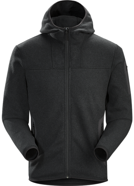 Arcteryx COVERT HOODY MEN'S Color: BLACK HEATHER