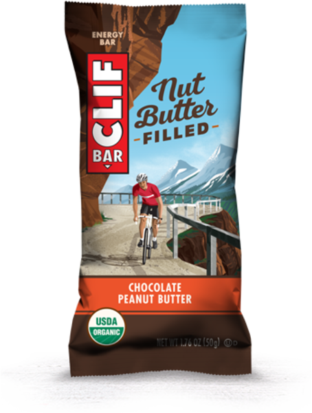 Clif NUT BUTTER FILLED, BAR 50G