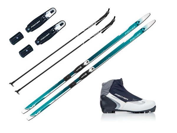 Fischer WOMENS CROSS COUNTRY SKI PACKAGE - RECREATION