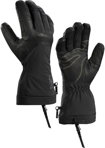 Arcteryx FISSION SV GLOVE Color: BLACK/INFRARED
