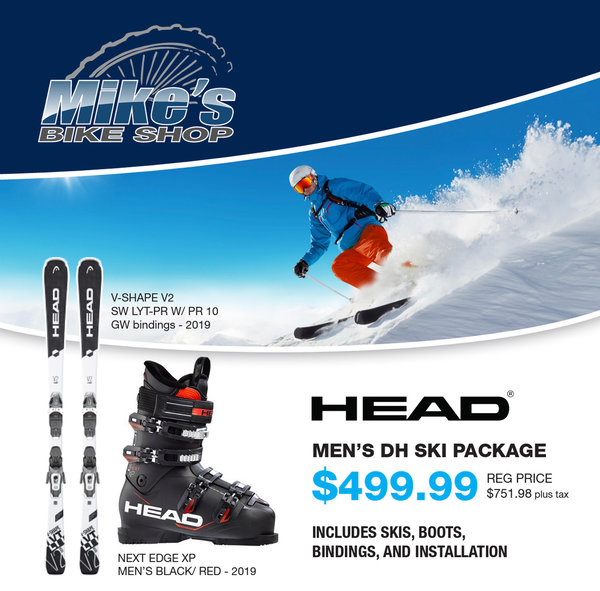 Head Skis MEN'S DH SKI PACKAGE