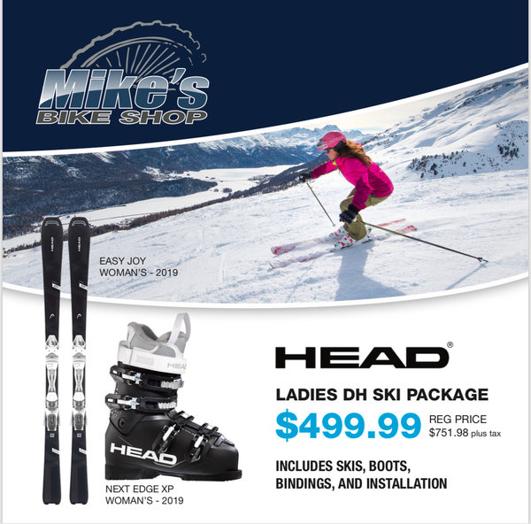 Head LADIES SKI PACKAGE