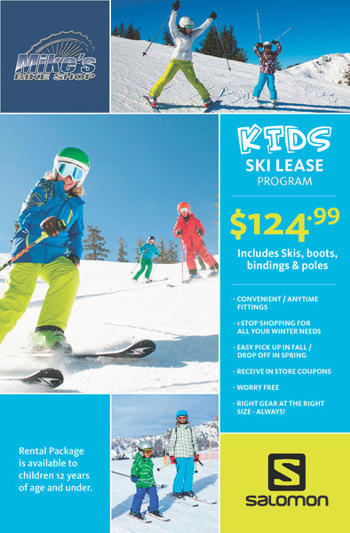 KIDS SKI LEASE PROGRAM