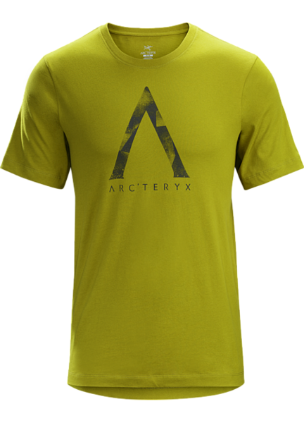 Arcteryx MEGALITH T-SHIRT Color: OLIVE AMBER