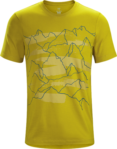Arcteryx PLAYGROUND T-SHIRT SS MEN'S : MIDNIGHT SUN
