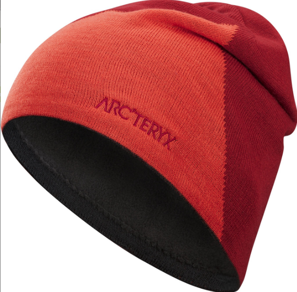 Arcteryx RISE TOQUE Color: FLARE/RED BEACH