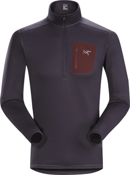 Arcteryx RHO AR ZIP NECK MEN'S Color: DIMMA
