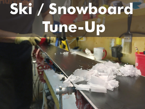 SKI/ SNOWBOARD TUNE-UP