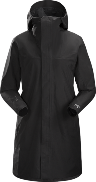 Arcteryx SOLANO COAT WOMEN'S : BLACK