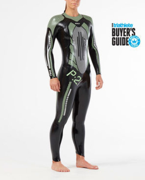2XU P:2 Propel Wetsuit : Black/Mint Green