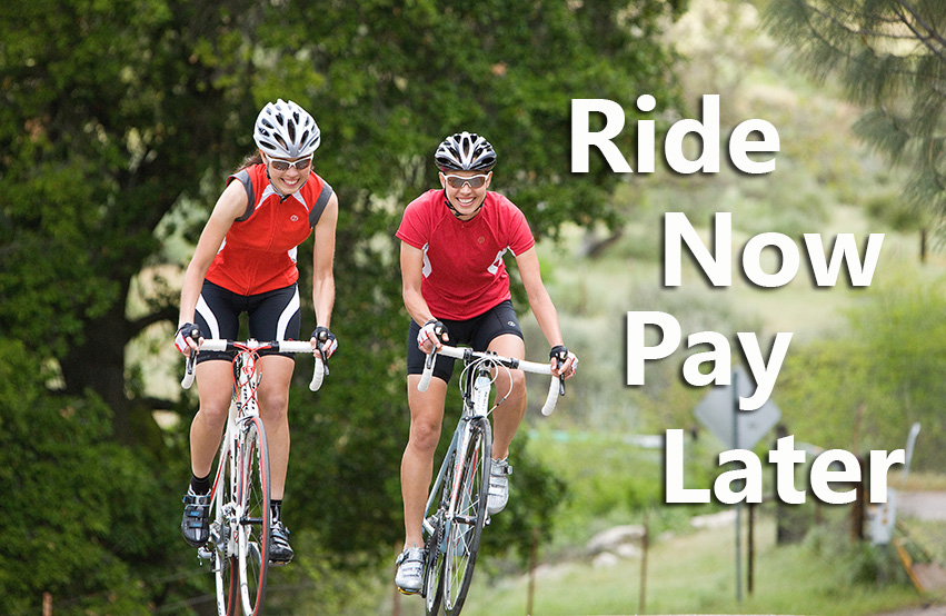 9333b04433d Ride Now Pay Later - Mike's Bike Shop