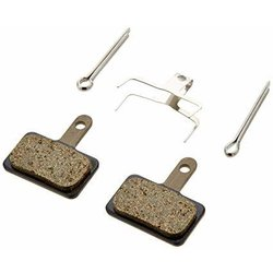 Shimano B01S RESIN BRAKE PAD - RESIN PAD(B01S), PAD SPRING, W/3 TYPES OF SPLIT PIN, 1 PAIR