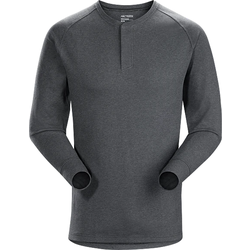Arcteryx SIRRUS HENLEY LS MEN'S : CINDER HEATHER