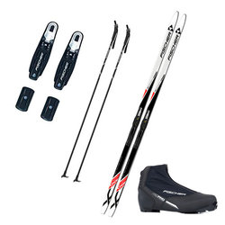 Fischer MENS CROSS COUNTRY SKI PACKAGE - RECREATION