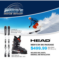 Head MEN'S DH SKI PACKAGE
