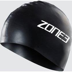 ZONE 3 Silicone Swim Cap - 48g - BLACK - OS