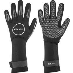 ZONE 3 Neoprene Swim Gloves - BLACK/SILVER