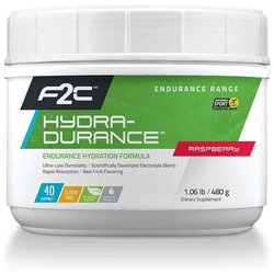 f2c Nutrition Hydra-Durance Drink Mix Raspberry 40 Servings