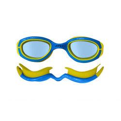 ZONE 3 Kids Aquahero Goggles - BLUE/YELLOW - One Size