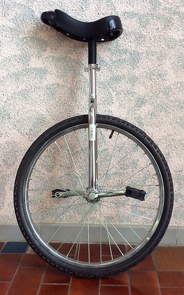 D'Amour Bicycle and Sport Unicycle 24""