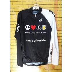Northern Cycle Long Sleeve Beer and Bikes Jersey