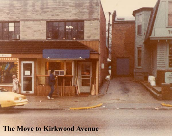 The move to Kirkwood Avenue