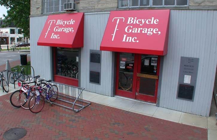 Bicycle Garage Inc current storefront