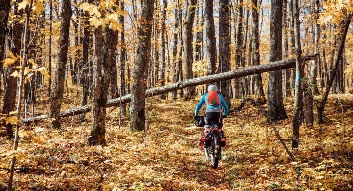 Fall Bikepacking