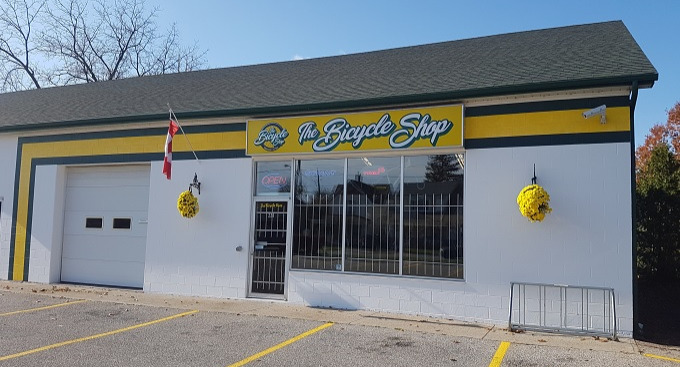 The Bicycle Shop Storefront