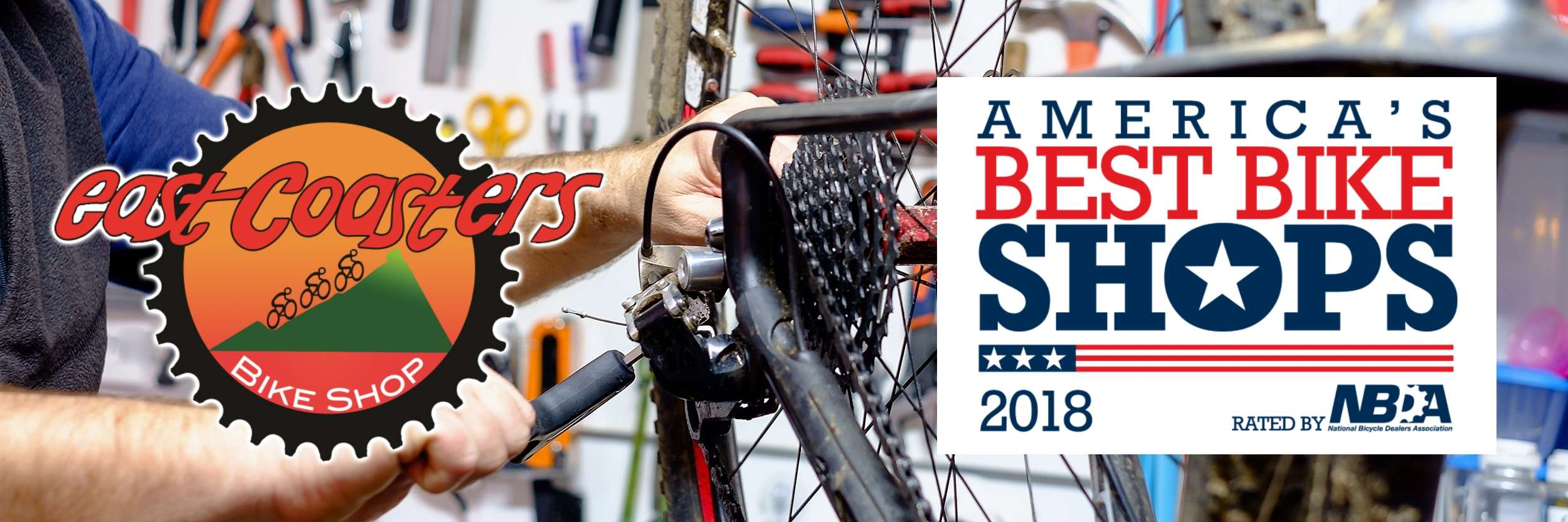 We're honored to have been voted one of America's Best Bike Shops by the National Bicycle Dealer's Association