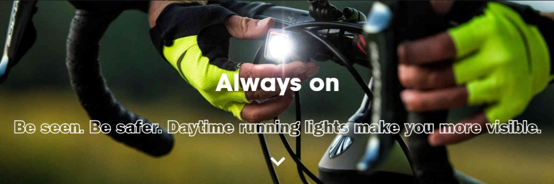 Be seen, be safer: daytime running lights can help you be more visible