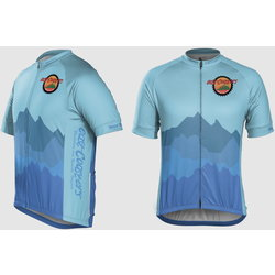 East Coasters Custom Mountains Jersey Semi-Fitted