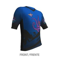 East Coasters 2019 Bontrager Custom Men's Loose Fit Tech Tee