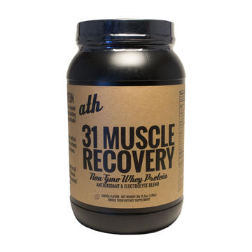 ath Non GMO 31 Muscle Recovery Protein 3lb Jar