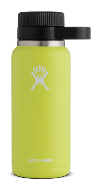 HydroFlask Wide Mouth 32oz Growler Color: Citron