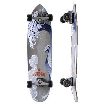 """Carver Skateboards Great Wave 37"""" C-7"""