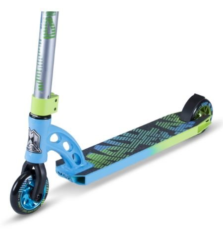 MADD GEAR VX7 Pro Scooter Color: Blue/Green