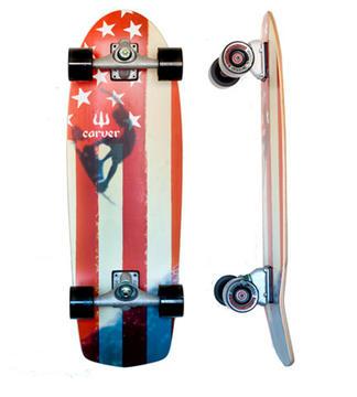 "Carver Skateboards Amber Flag 30.75"" C-7"