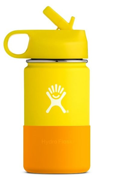 HydroFlask 12oz. Kids Wide Mouth Color: Lemon