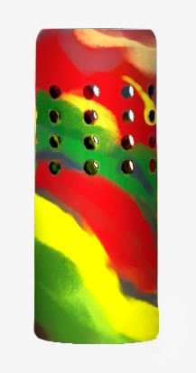 HYDROSKINS 40oz Sleeve Holes Cutout Color: Rasta