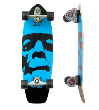 "Carver Skateboards Da Monsta 31"" Blue Complete"