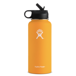 HydroFlask Wide Mouth 32oz with Straw Lid