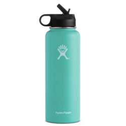 HydroFlask Wide Mouth 40oz with Straw Lid