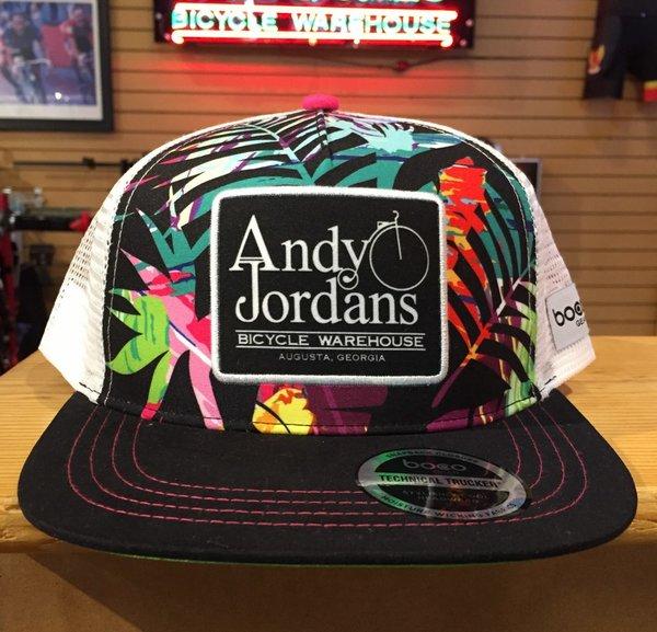 Andy Jordan's Paradise Technical Flat Bill Trucker Hat
