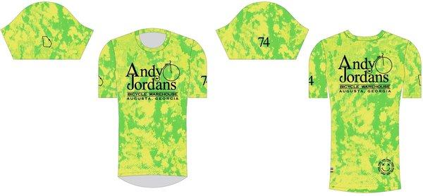 Andy Jordan's AJBW Hy-Dye All Mountain SS Tee