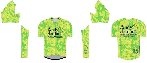 Andy Jordan's AJBW Hy-Dye SL Jersey