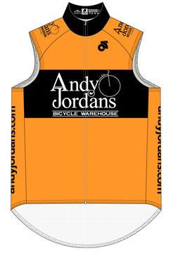 Andy Jordan's AJBW Hi-Viz Retro Vest