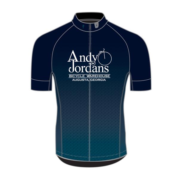 Andy Jordan's Blue Steel SL Expert Jersey