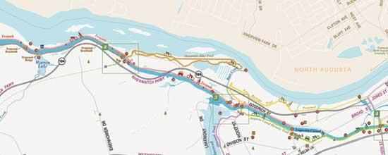 Augusta Canal Towpath & MTB Trail